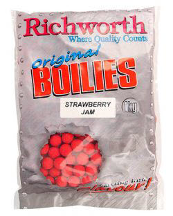 Бойлы Richworth Original Strawberry Jam 14mm 150gr