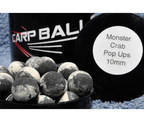 Бойлы Pop Ups 10mm Monster Crab CARPBALLS