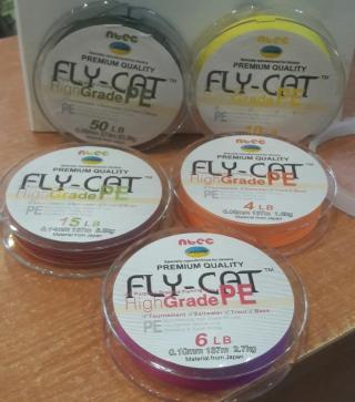 Шнур FLY-CAT 137m мультиколор