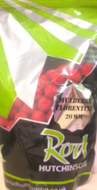 Бойлы Rod Hutchinson  Mulberry Florentine / Protaste Plus