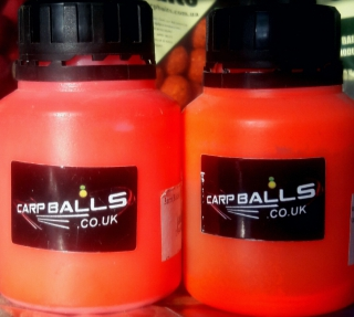 Дип CARPBALLS Fluoro Glugs Strawberry Jam 130мл