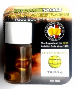 Искусственная Кукуруза Pop-Up Enterprise,NUTRABAITS TRIGGA, Yellow
