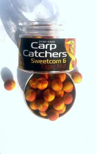 Бойлы Pop-Up Carp Catchers  Sweetcorn&Tiger Nut  10mm.