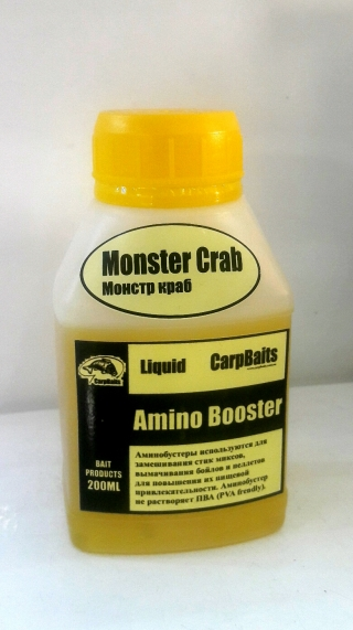 Амино-дип бустер Монстр Краб CarpBaits 200ml.