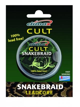 Лидкор без свинца Climax CULT Snake Braid Silt 10м