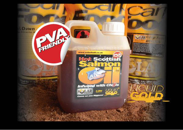 SOLAR CHILLI SALMON OIL, 1 литр