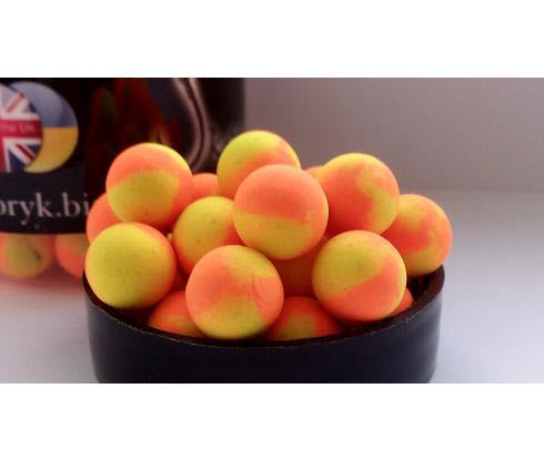 Бойлы Pop Ups 10mm Banana&Scopex CARPBALLS
