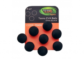 Texno EVA Balls  black уп/8шт Технокарп