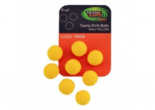 Texno EVA Balls yellow уп/8шт Технокарп