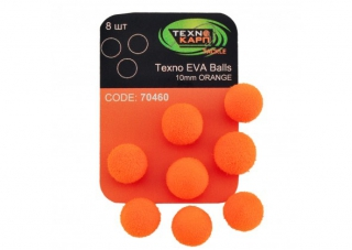 Texno EVA Balls  orange уп/8шт Технокарп