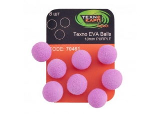 Texno EVA Balls  purple уп/8шт  Технокарп