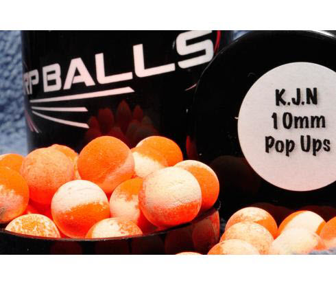 Бойлы Pop Ups 10mm K-J-N CARPBALLS