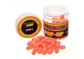 Бойлы Pop-Up Premium Krill 10,12,10*14mm. 50гр Технокарп