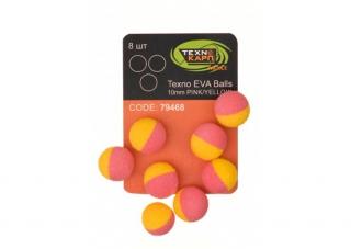 Texno EVA Balls  pink/yellow уп/8шт Технокарп