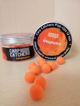 Бойлы pop-up Carp Catchers Megaspice(мега-специи) 12mm