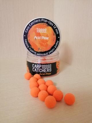 Бойлы pop-up Carp Catchers Acid Pear,(Груша) 12mm