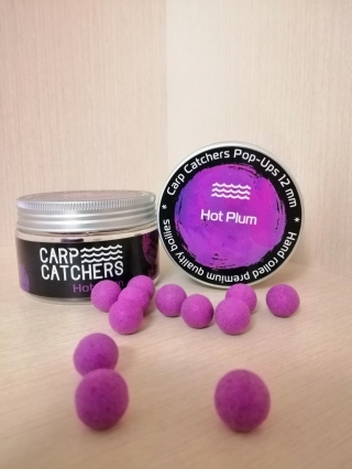 Бойлы pop-up Carp Catchers Hot Plum 12mm