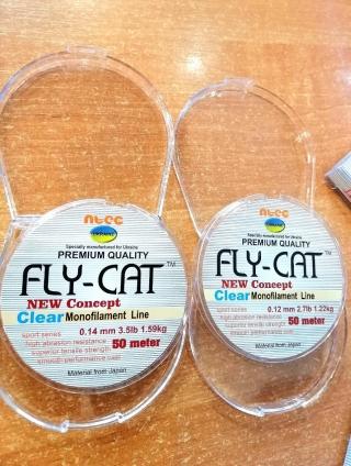 Леска FLY CAT  50 метров.