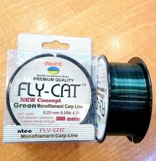 Леска FLY CAT зелёная 300 м.
