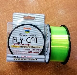 Леска FLY CAT флюро 300 м.