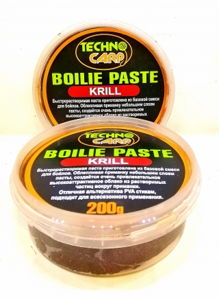 Бойловая паста Криль Технокарп 200 грм.