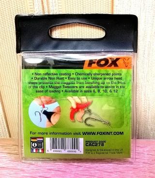 Клипсы для опарышей FOX