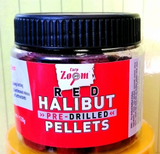 Пеллетс Red Halibut насадочный CarpZoom 120гр.