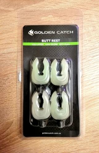 Рогач силиконовый концевой малый Golden Catch 4шт.