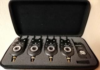 Набор сигнализаторов Slimmer 4+1 WC340-4 World4Carp