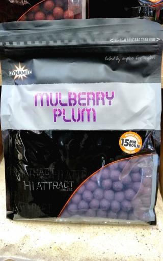 "Бойлы Шелковица-Слива ""Mulberry Plum"" 15мм-18мм.DYNAMITE BAITS 1 кг."