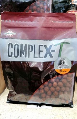 "Бойлы Комплекс-Т ""Complex-T"" 15мм-18мм.DYNAMITE BAITS 1 кг."