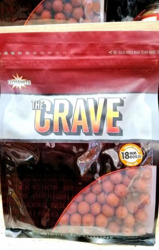 """Бойлы """"The Crave"""" 15мм-18мм.DYNAMITE BAITS 1 кг."""