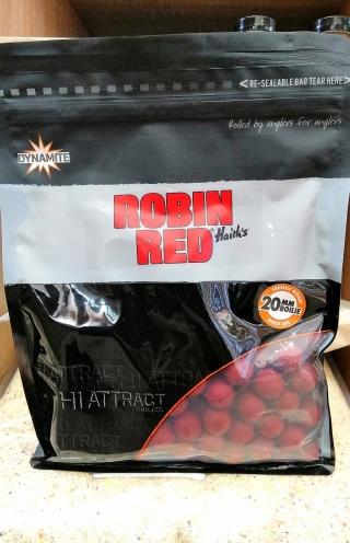 """Бойлы Робин Рэд """"ROBIN RED"""" 15мм-20мм.DYNAMITE BAITS 1 кг."""