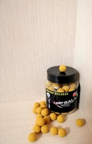 Бойлы Pop Ups 10mm Honey Yucatan CARPBALLS