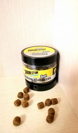 "Пеллетс насадочный растворимый Swim Stim ""F1 Sweet"" 8 мм Dynamite Baits."