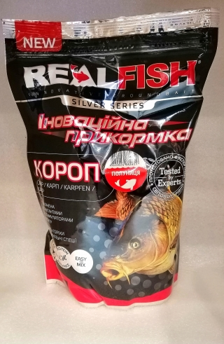 "Прикормка Карп ""Клубника"" RealFish"