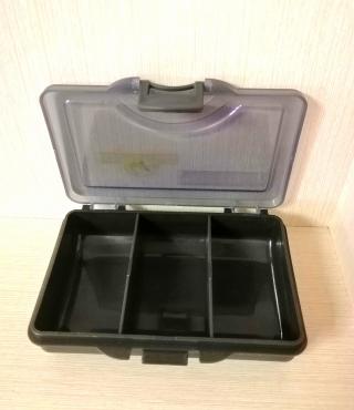 Коробка для карповых аксессуаров 106*76*25 мм 3-отд.Golden Catch