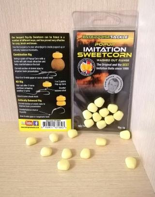 """Искусственная кукуруза """"Вымытый жёлтый"""" Pop-Up 10 шт. Enterprise"""