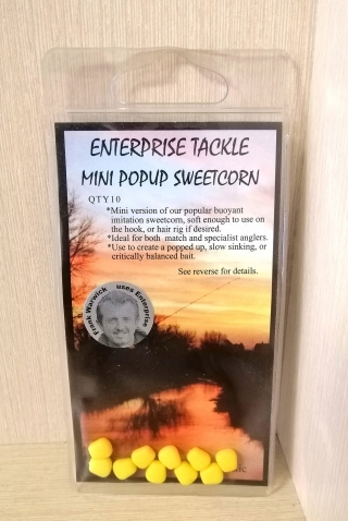 "Искусственная кукуруза ""Мини Жёлтая"" Pop-Up 10 шт. Enterprise"
