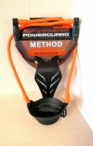 "Рогатка с кистевой защитой для прикормки шарами""Range Master Powerguard - Method pouch"" FOX,CPT027"