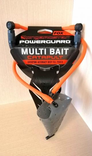"""Рогатка с кистевой защитой для прикормки зерновыми, пеллетсом, бойлами""""Rangemaster Powerguard - Multi pouch"""" FOX,CPT026"""