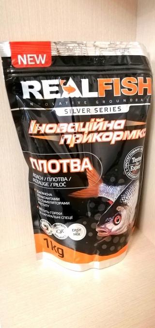 "Прикормка Плотва ""Мотыль"" RealFish"