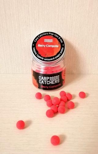 Бойлы pop-ups «Berry Compote» 8 mm Carp Catchers