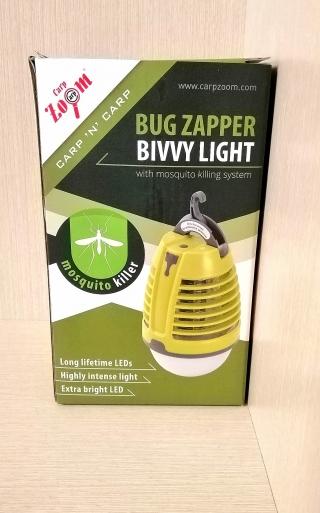 Лампа для палатки с режимом электро шокового уничтожения насекомых Carp Zoom