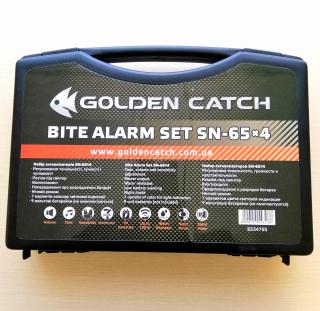 Набор сигнализаторов SN 65*4 Golden Catch