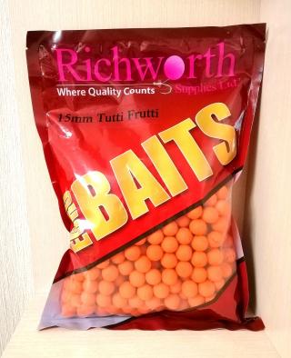 "Бойлы Тутти Фрутти ""Tutti Frutti"" 15мм 1кг. Richworth"
