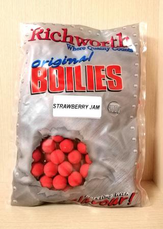 "Бойлы Клубника Джем Original ""Strawberry Jam"" 15mm 400gr Richworth"