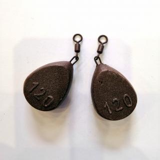 Груз боковой Плоский 60 -130 грамм Технокарп.
