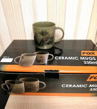 """Керамическая кружка с рисунком """"Ceramic Mug, Scenic"""" FOX CLU394"""