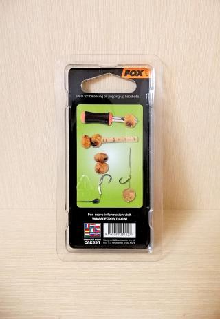 "Комплект сверла с пробковыми палочками ""Edges Drill & Cork stick set"" Fox CAC591"